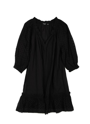 Setre Elbise Siyah